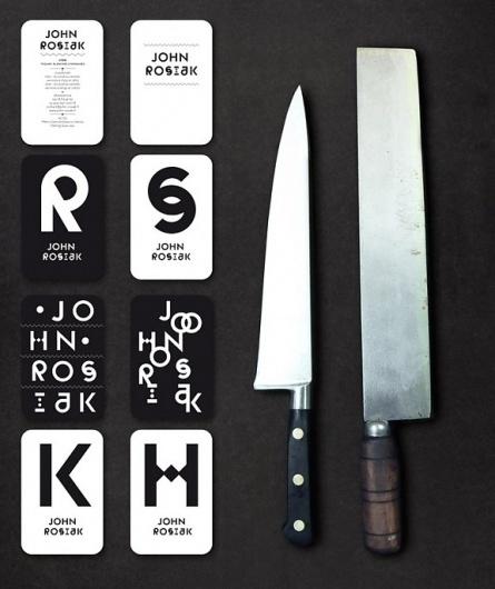 The Fox Is Black » John Rosiak branding by Atelier Müesli #logo #branding