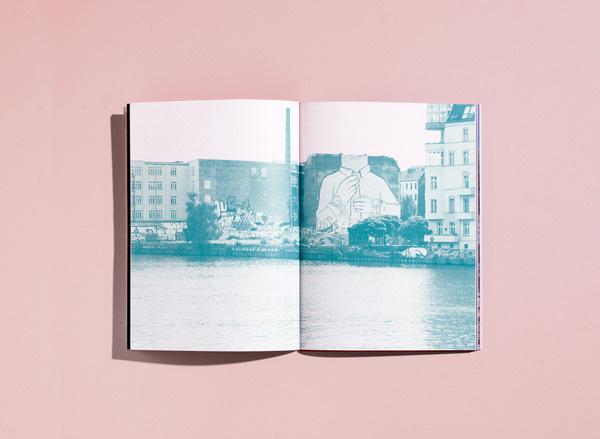 Fluctus Journal DAVID TORR #print #booklet #photography #colour