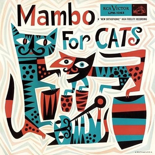Jim Flora :: Galleries :: Record Covers #retro #jim flora #cats #illustration
