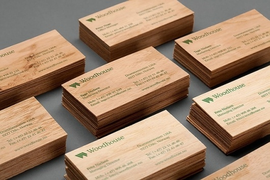 HEYDAYS Woodhouse Business Cards #business #card #design #graphic #heydays #wood #brand