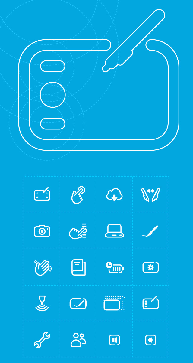 Wacom_Graphics_Icons #line #pictogram #icon #wacom #sign #picto #symbol