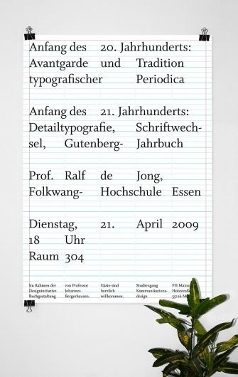 I LIKE BIRDS: Designinitiative Ralf de Jong #german #mainz #poster