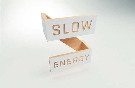 Slow Energy #signage #logo #identity