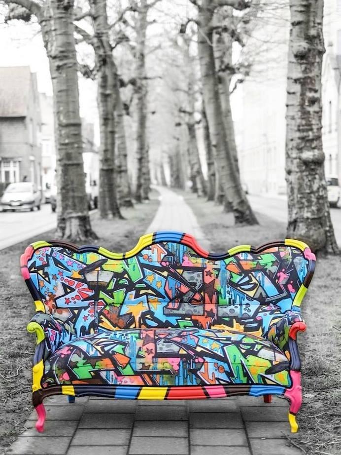 Upholstering old furniture - a solution to restore beauty - www.homeworlddesign. com (13) #design #furniture