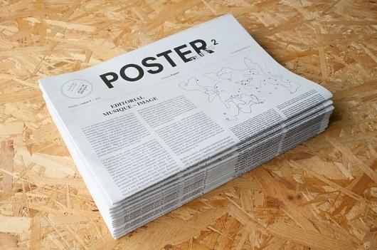 Poster Tribune #tribune #print #design #poster #editorial