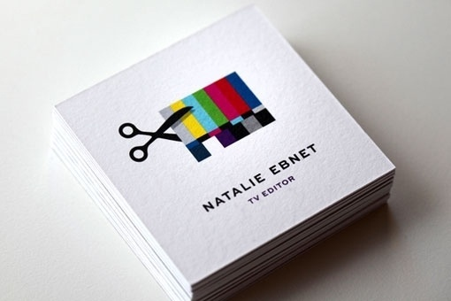 design work life » Mattson Creative: Natalie Ebnet Logo & Business Cards #logo #card