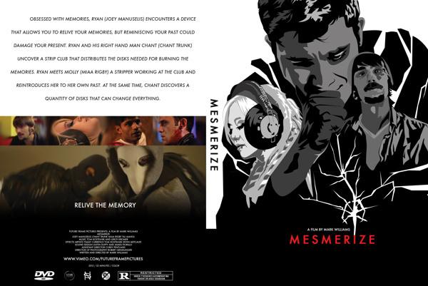 dvd slip for MESMERIZE the movie #mark #nick #movie #williams #mesmerize #spanos #pittsburgh #poster
