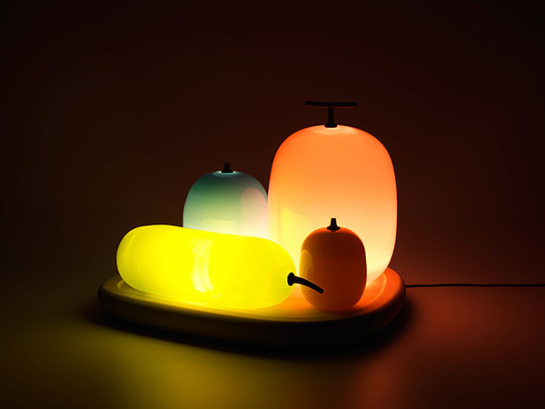 Fruits Table Lamp by S #lighting