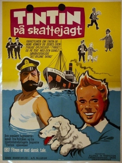 The Ephemerist - Part 3 #movie #tintin #retro #herg #vintage #poster
