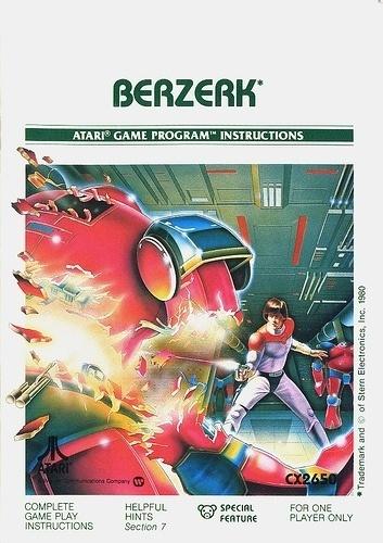 Atari - Berzerk | Flickr - Photo Sharing! #games #video #illustration #manual #booklet