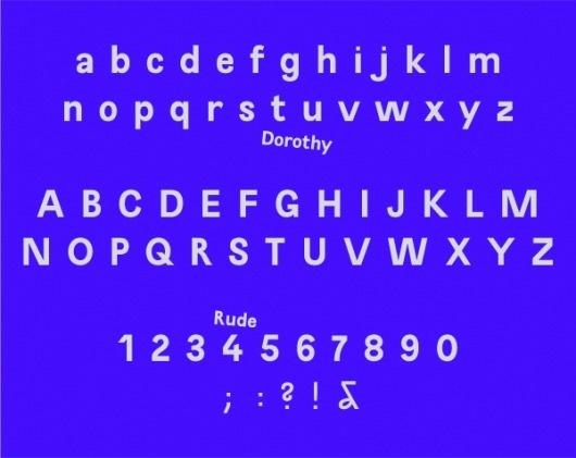 Bureau Mirko Borsche   High-Hi #specimen #borsche #type #mirko #typography