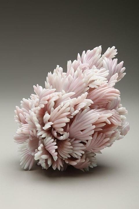 Amber Cowan Repurposes Glass Knickknacks for Elaborate Sculptures | Hi Fructose Magazine #glass