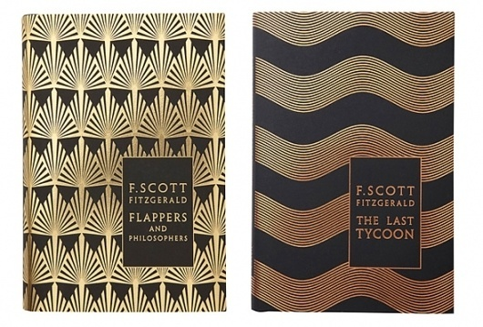 F.Scott Fitzgerald book covers by Coralie Bickford-Smith