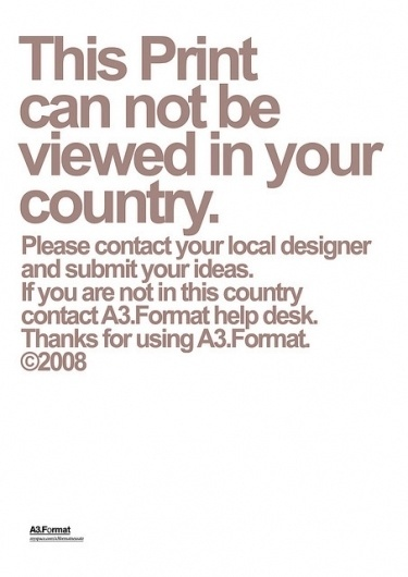 Can't be viewed by Manovski | Flickr - Photo Sharing! #swiss #legacy #grid #poster #helvetica