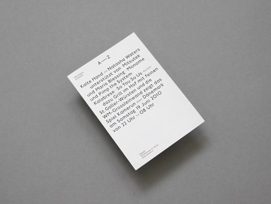 Larissa Kasper #design #typography #flyer #postcard #larissa kasper #party invite