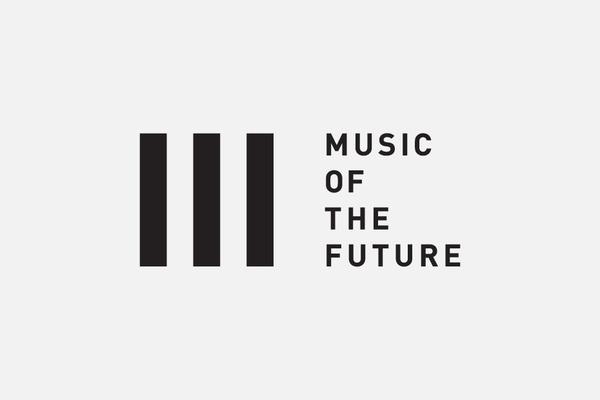Music of the Future #logo #logotype #minimal #black