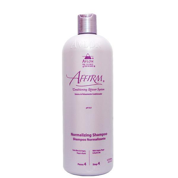 Avlon Affirm Normalizing Shampoo (step 4)