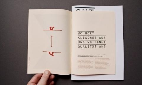 Klischee und Qualität. Wendecomic und Doku — Paul Schneider, Grafikdesign #brochure #typography