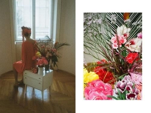 fortheloveofimages #magazine #flowers #fashion #shoot #story