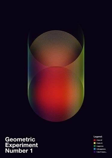Data Flow 2 - Geometric Experiments on the Behance Network #geometry #design #graphic
