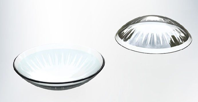 Introducing mirrored contact lenses that allow the user to see which side is the right way up upon putting it on to avoid any discomfort! #modern #design #product #industrial #technology