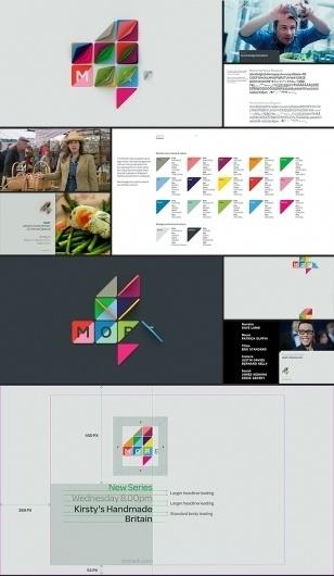More4 Rebrand | Projects | ManvsMachine #ident #identity #branding
