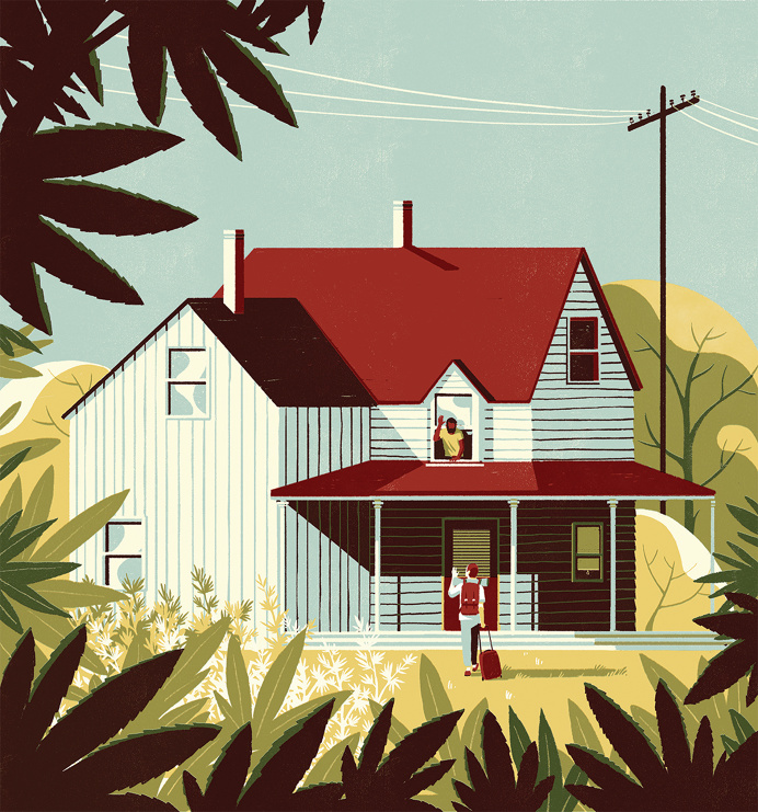 #house #illustration #story