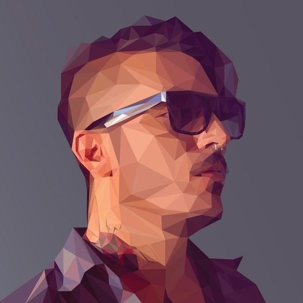 Adobe Illustrator & Photoshop tutorial: Create a low-poly portrait – Digital Arts #poly #illustration #portrait #art #low