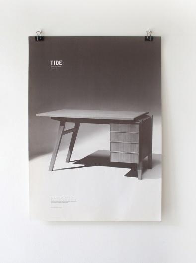 Drew Coughlan—Tide #oak #print #design #american #desk #tide #molino