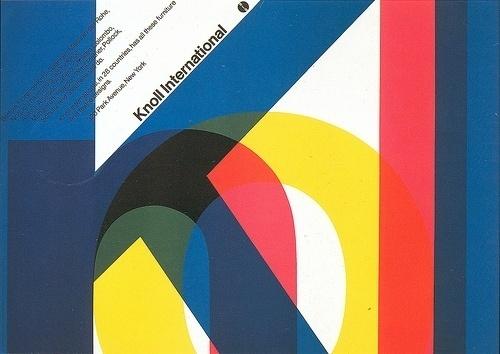 All sizes | Massimo Vignelli Knoll International, 1967 | Flickr - Photo Sharing! #graphic design #massimo vignelli