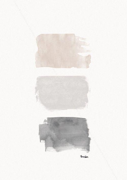 Likes | Tumblr #beige #painting #grey