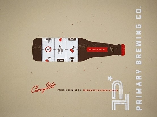 Design/Logo/Packaging / cherry witbier poster
