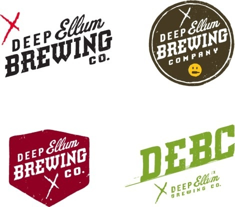 Deep Ellum Brewing Co. #beer #branding #brewing #identity #logo #typography