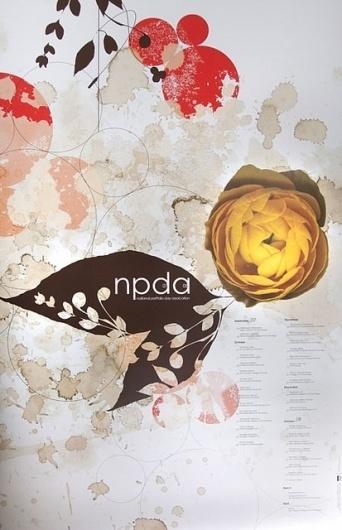 NPDA Poster | Flickr - Photo Sharing! #print #design #illustration #poster #layout #typography