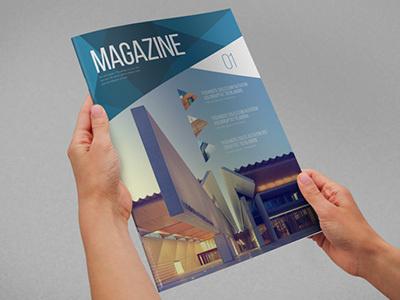 Modern Architecture Magazine #modern #design #minimal #template #download #magazine