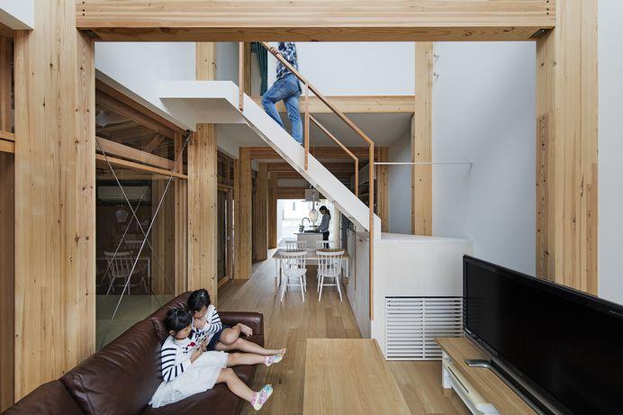 House in Toriemi-machi by siinari