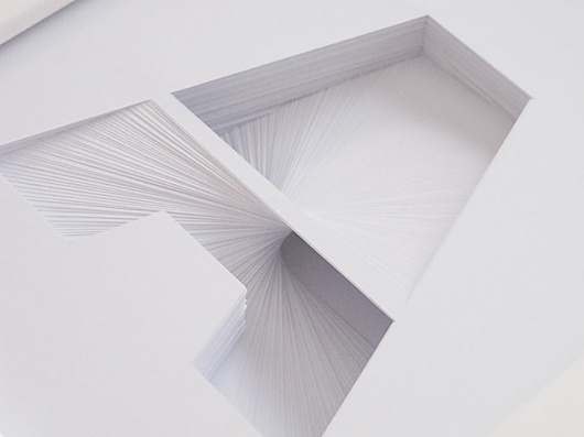 Paper Typography – Typography inspiration on MONOmoda #typography