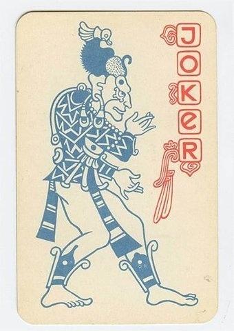 FFFFOUND! | English Russia » The Soviet Mayan Playing Cards #joker