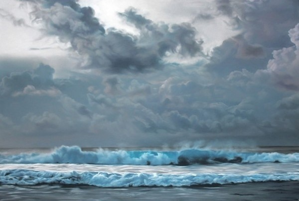 Pastel Icebergs by Zaria Forman 10 #painting #sea #art