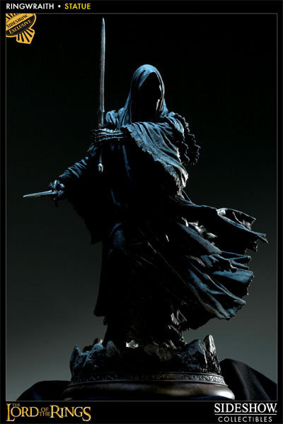 Ringwraith Polystone Statue Sideshow Collectibles SideshowCollectibles.com #rings #of #ringwraith #lord #the