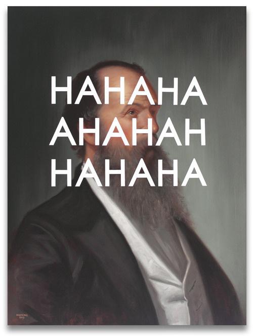 SHAWN HUCKINS #beard #ha #haha #art #hahaha #typography