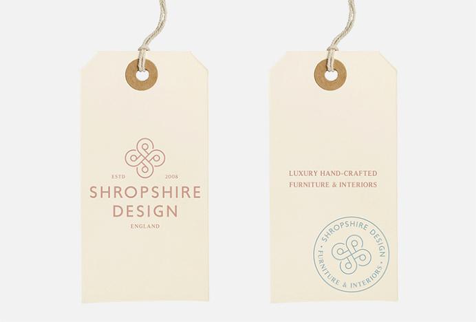 Shropshire Design by Alan Cheetham #graphic design #print #label