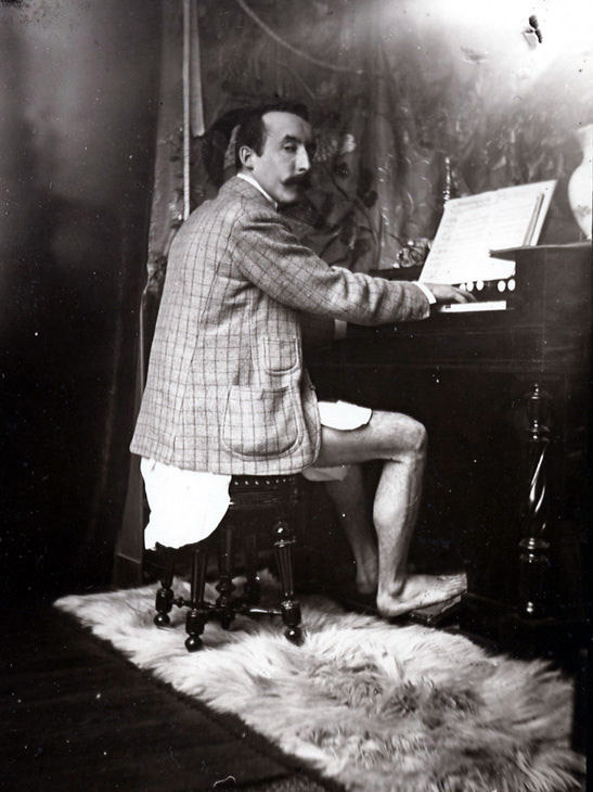 Paul Gauguin (photo by Alfons Mucha) #photography