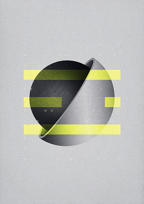 #minimal #geometry #bars #yellow #gray
