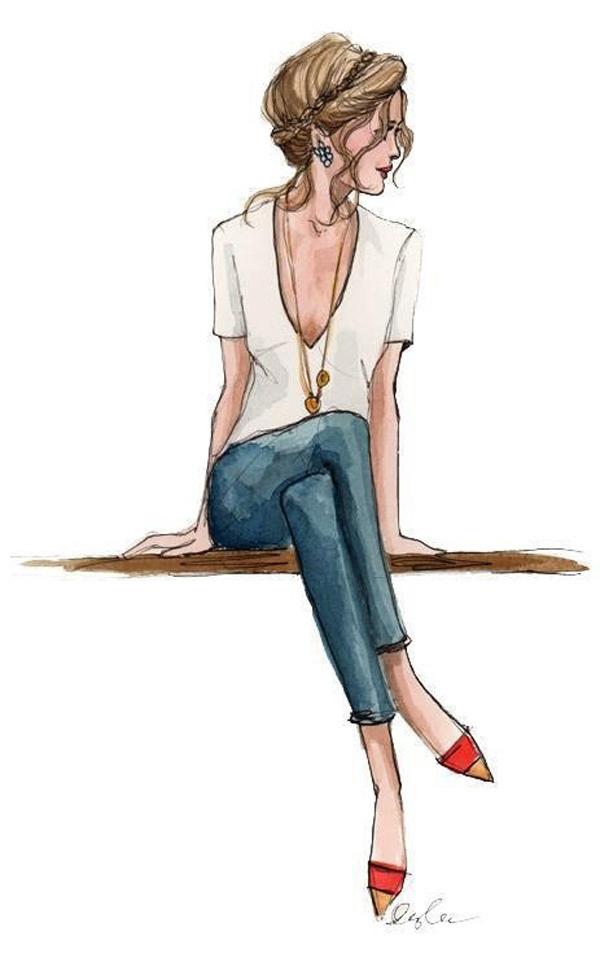 50 Amazing Fashion Sketches #fashion #sketches