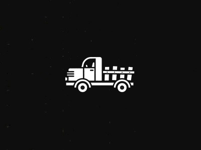 Dribbble - Truck by Michael Spitz #icon #illustration #truck