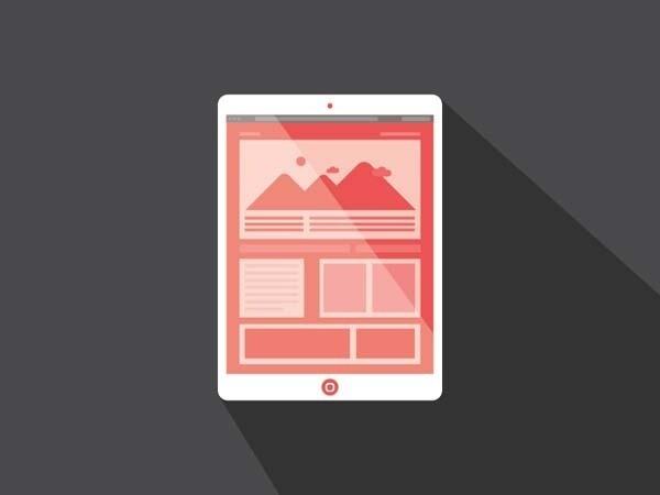 New Design Trend: Long Shadow Logos DesignTAXI.com #jeff #design #escalante #long #shadow