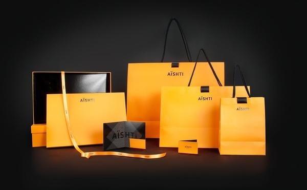 Aishti Identity #packaging #bags