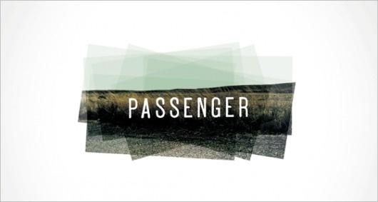 Oxide Design Co. | Passenger Productions logo #train #passenger #photography #identity #logo #typography