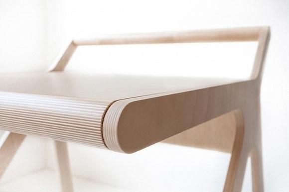 K-desk multifunctional furniture for kids. #multifunctional #design #furniture #desk #kids #children #room